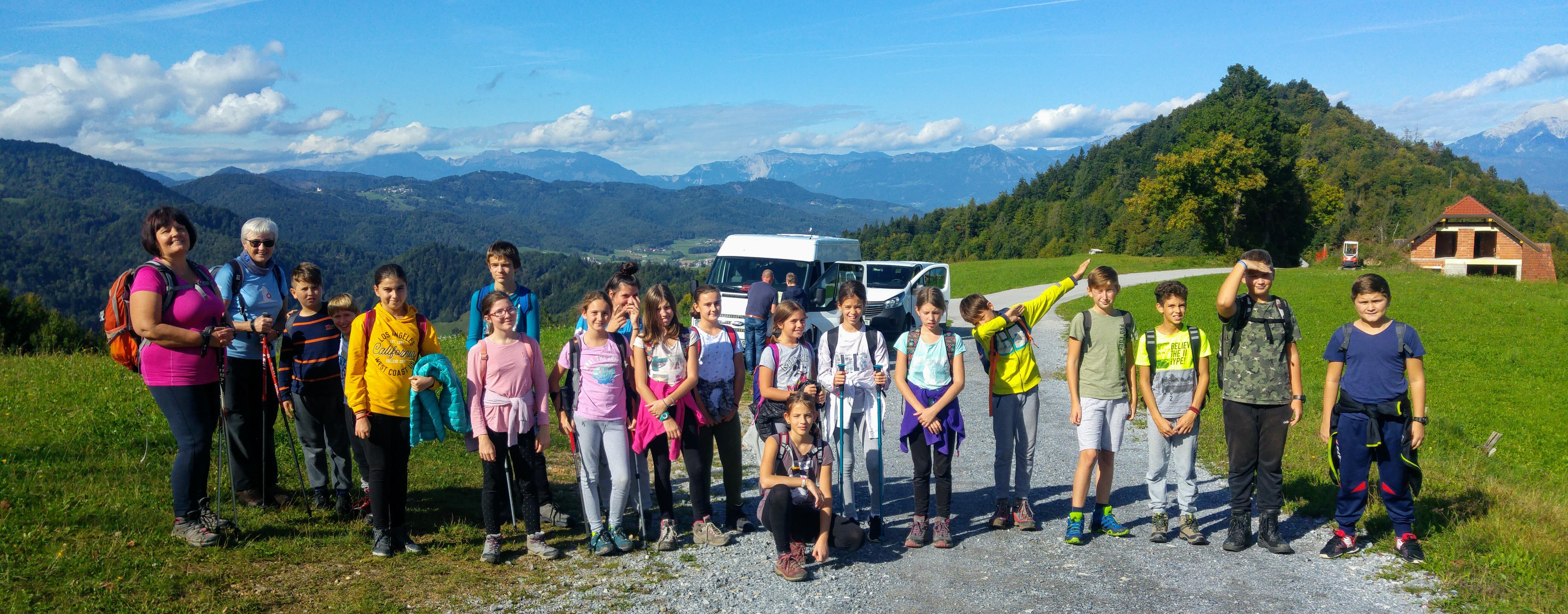 100. Loška planinska pot (Sv. Andrej), 26.9.2019
